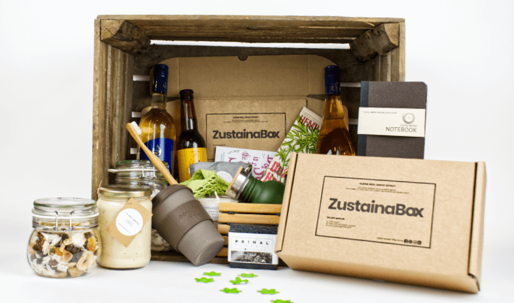 Producten in duurzaam kerstpakket