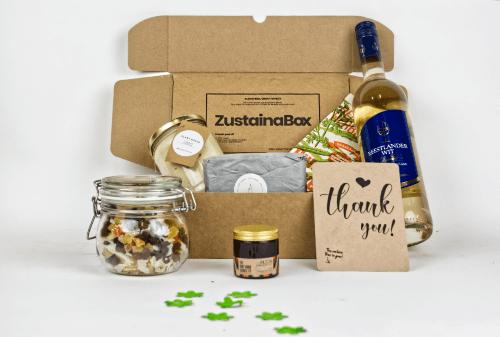 Groot duurzaam kerstpakket ZustainaBox 2