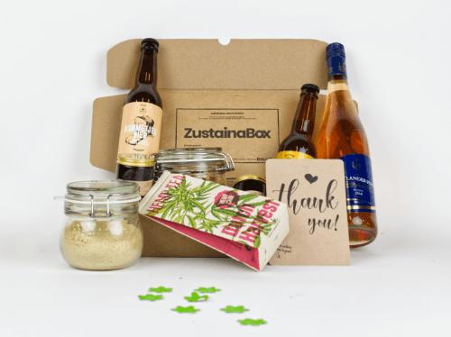 Groot duurzaam kerstpakket ZustainaBox optie 1