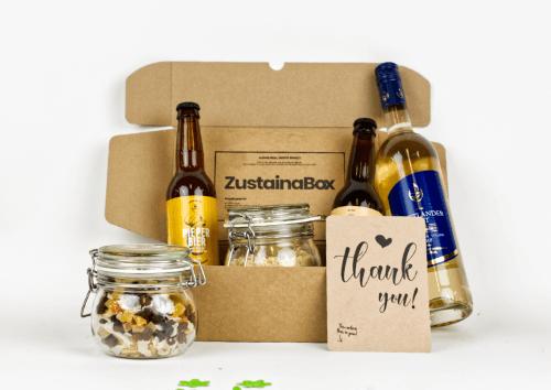 Klein duurzaam kerstpakket ZustainaBox
