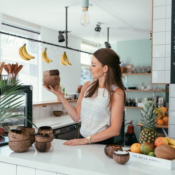Miriam van Plant Ahead coconut bowls