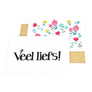Bloom your message duurzame kaart