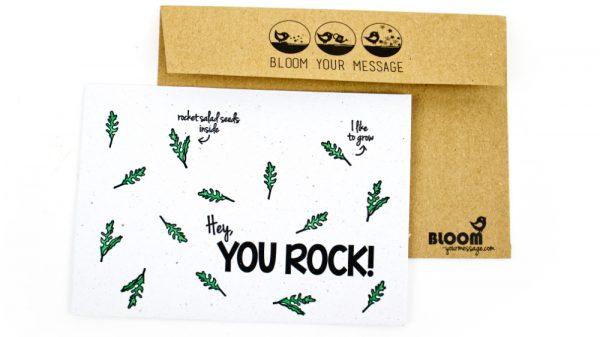 Bloom your message you rock kopie