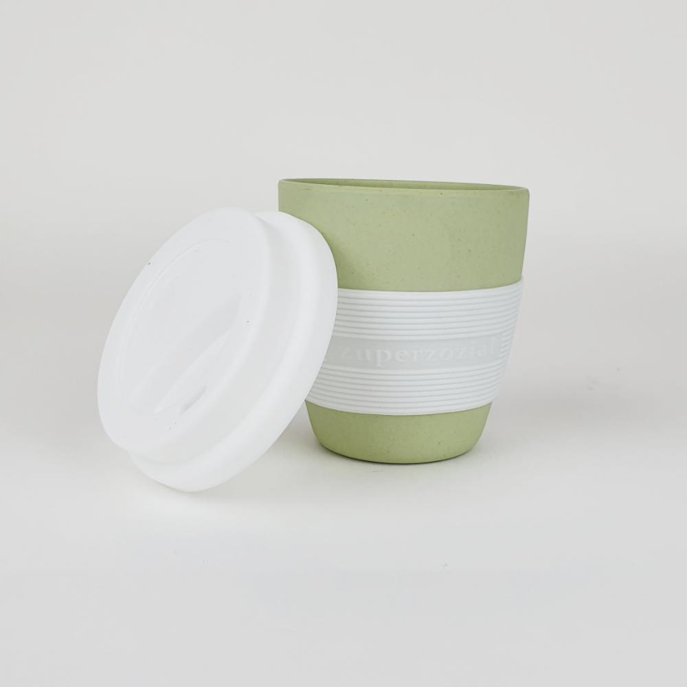 herbruikbare koffiebeker van zuperzozial