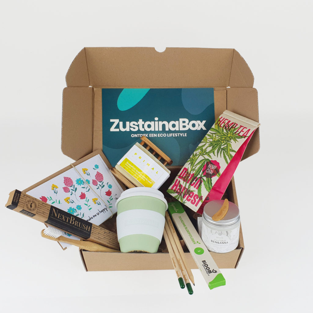 Eco producten in juli ZustainaBox