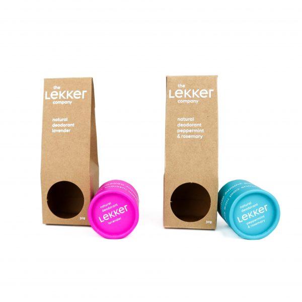 natuurlijke deodorant van The Lekker Company