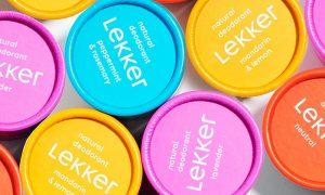 plasticvrije deodorant The Lekker Company