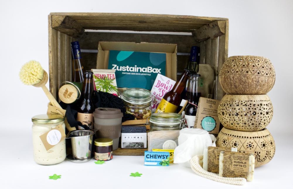 Duurzame kerstbox