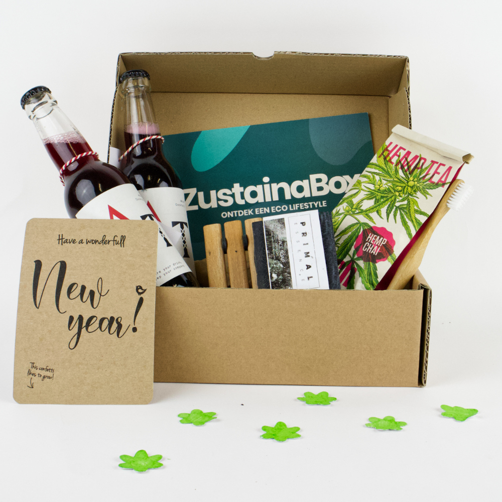 Voorbeeld eco kerstpakket lokale producten