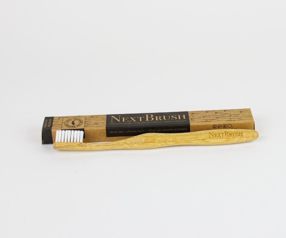 Bamboe tandenborstel nextbrush