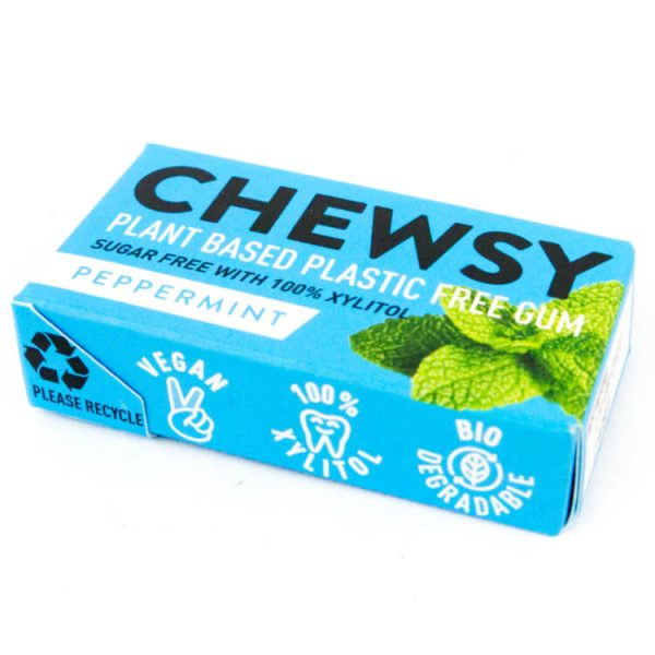 plantaardige kauwgom xylitol chewsy zonder plastic