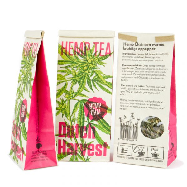 Dutch Harvest Hennep Thee Chai