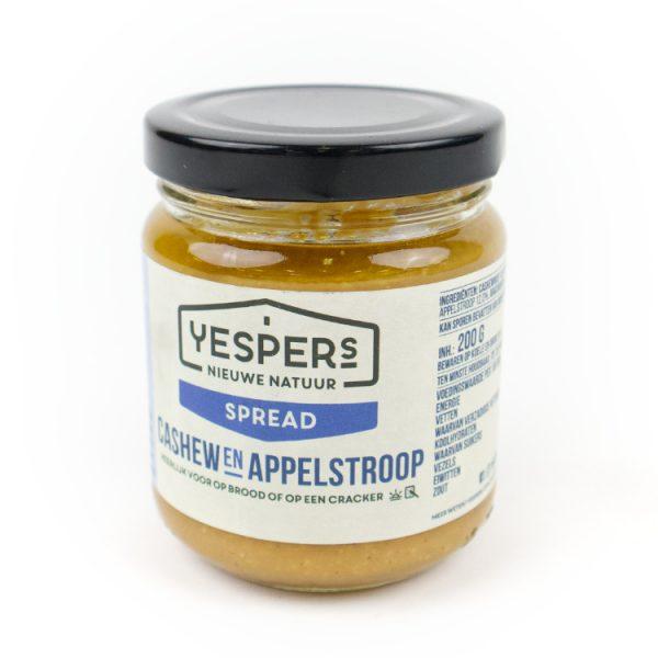 Yespers cashew appelstroop pasta tegen verspilling
