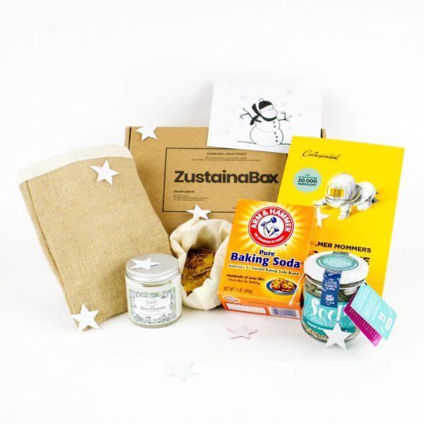 ZustainaBox duurzaam kerst cadeau Lotte