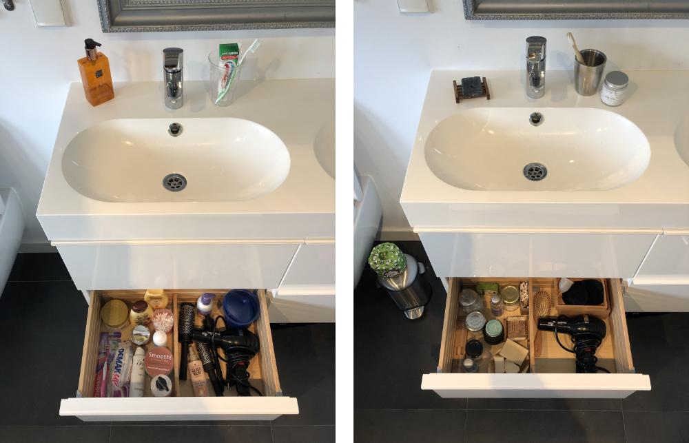 plasticvrij badkamer resultaat