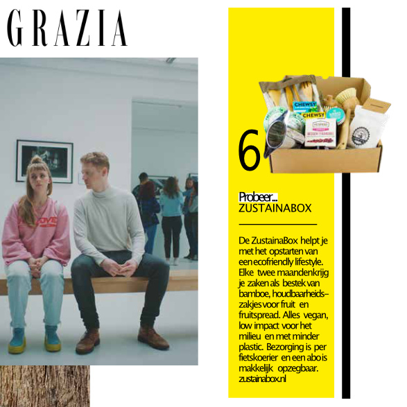 Grazia ZustainaBox Artikel