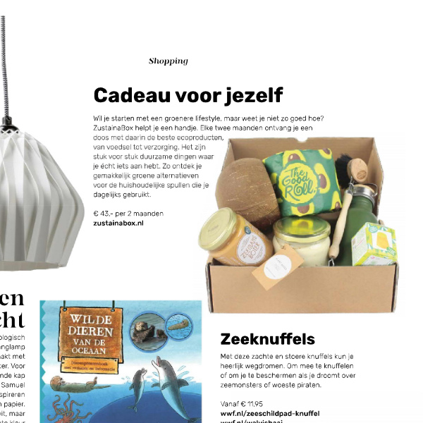 WNF ZustainaBox artikel