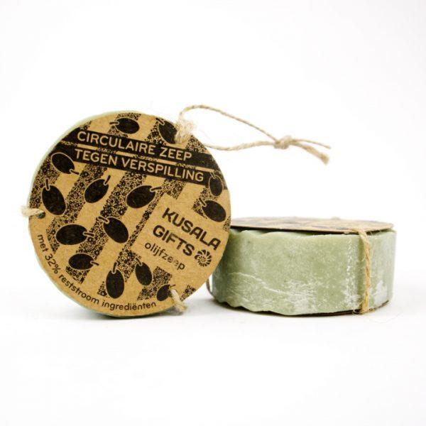 Kusala gifts olijf circulaire zeep