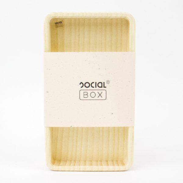 Socialbox duurzaam hout offline