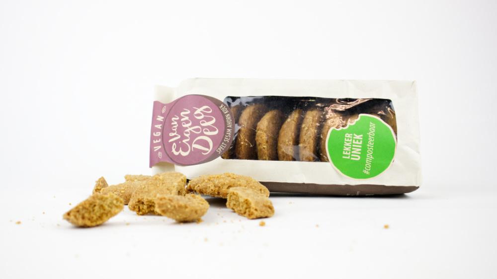 Vegan koekjes van Eigen Deeg