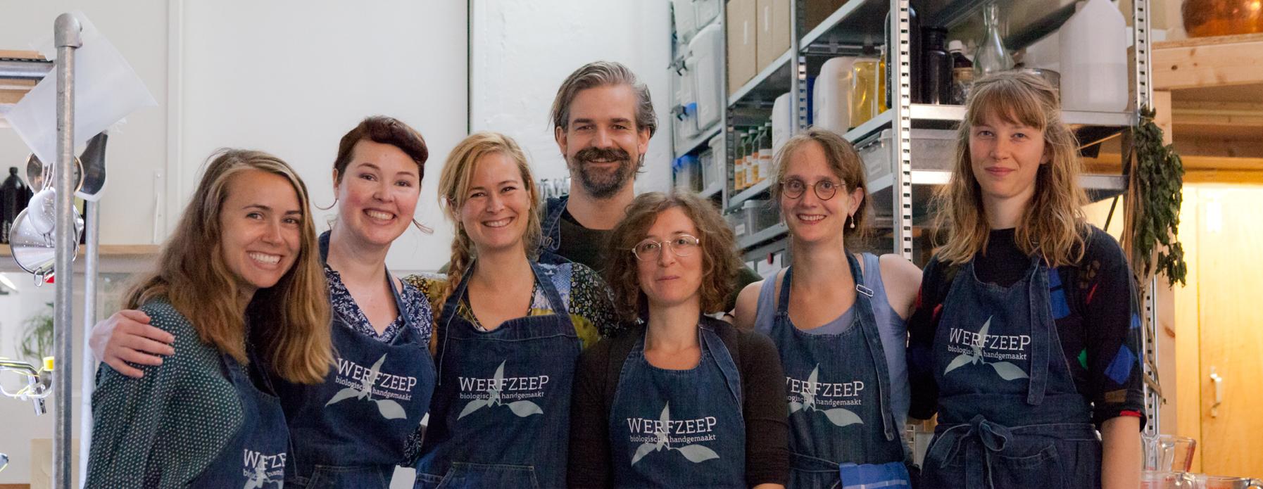 team van Werfzeep