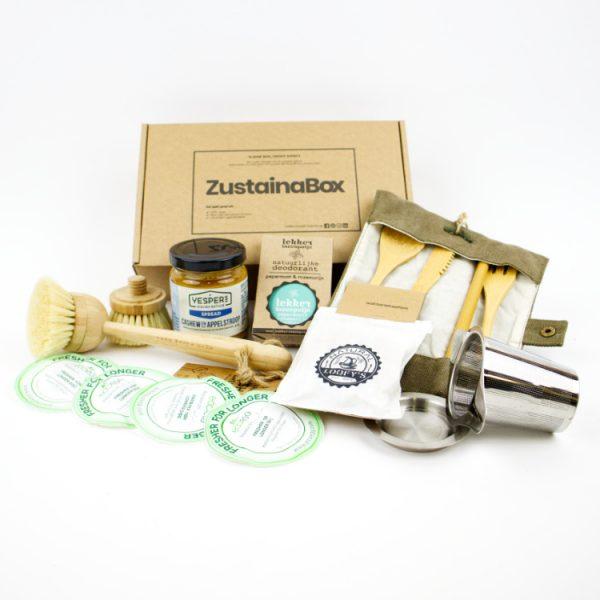 duurzame producten ZustainaBox dewi box