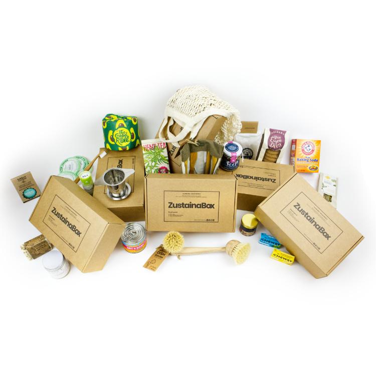 Jaar membership ZustainaBox duurzame producten