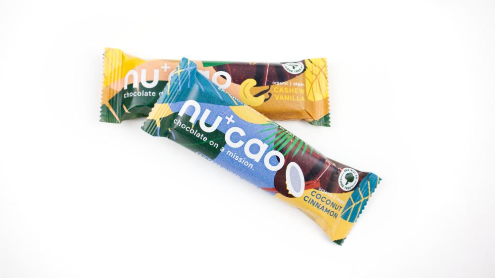 Nucao duurzame chocolade reep valentijn