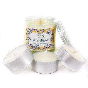 duurzame waxine lichtjes met geur elate