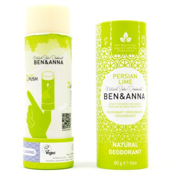 zero waste Deodorant limoen Ben Anna