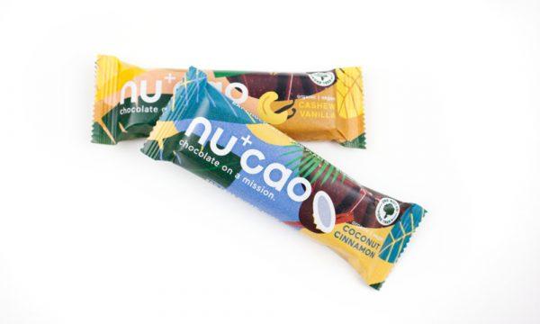 Plasticvrije, duurzame chocoladereep Nucao