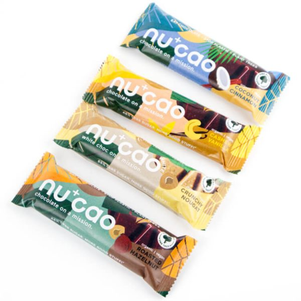 Duurzame vegan chocolade smaken Nucao