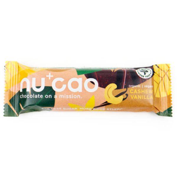 duurzaam choco composteerbare verpakking zerowaste nucao