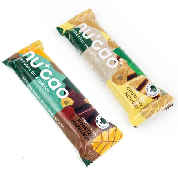 plasticvrij minder suiker chocolade nucao
