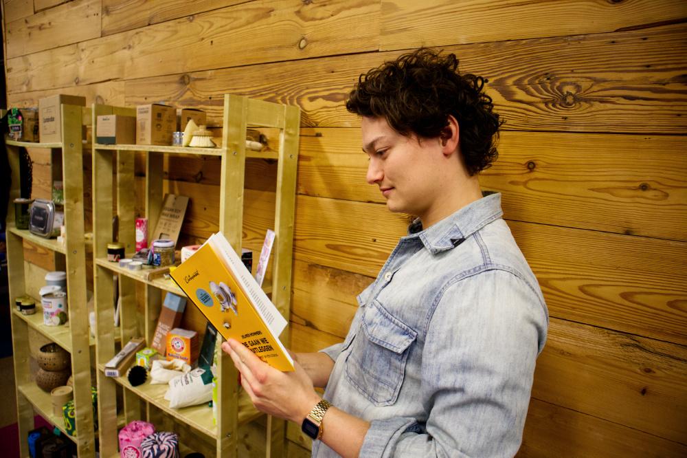 duurzaam boek - hoe gaan we dit uitleggen