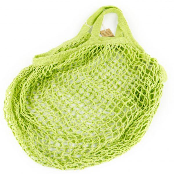 granny nettasje plasticvrij lime groen