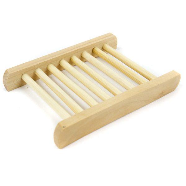 houten zeep rekje droog
