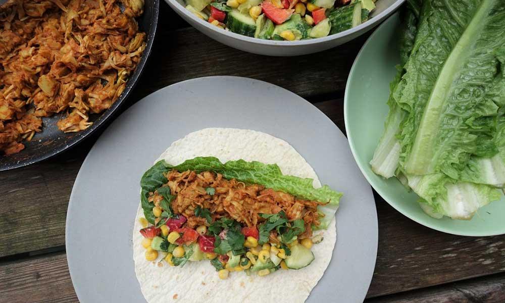eten lunchbox vegan salade