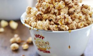 vegan snack recepten popcorn Rens Kroes