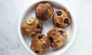 vegan snack recepten vegan blueberry muffin