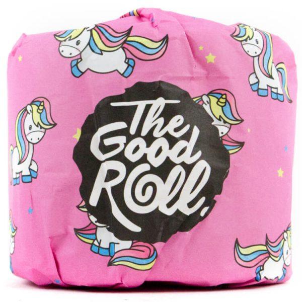 Moederdag cadeau roze wc roll duurzaam