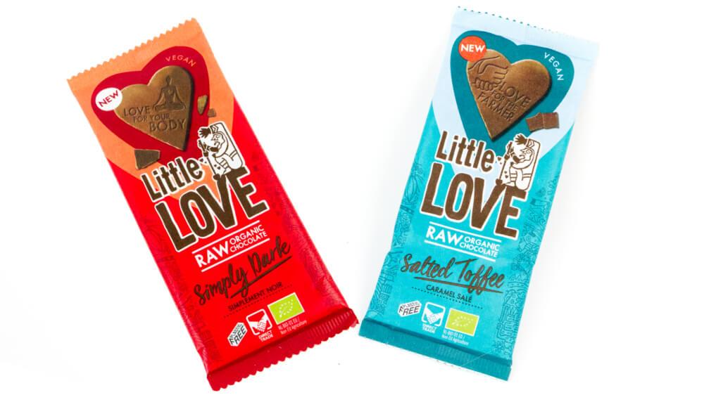 Vegan chocolade reep LoveChock