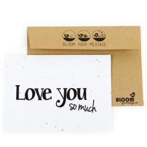 Valentijnsdag kaartje