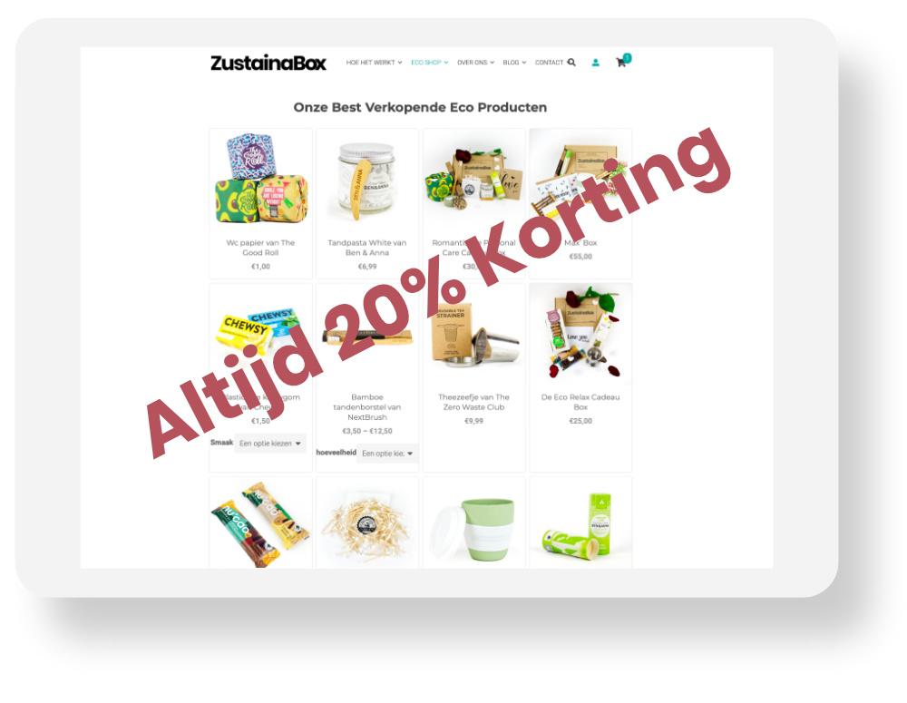 ZustainaStore-Basic-Membership-Korting