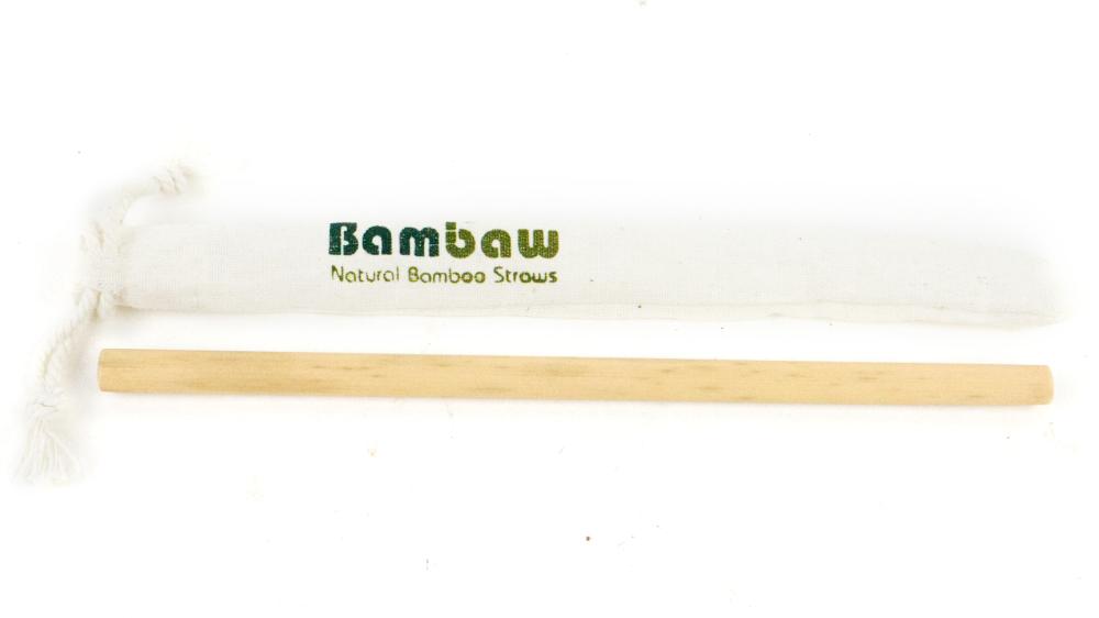 Herbruikbaar bamboe rietje Bambaw ecologisch