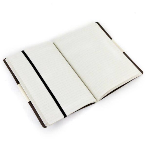 Duurzaam notitieboek koffie nieuwe normaalbox