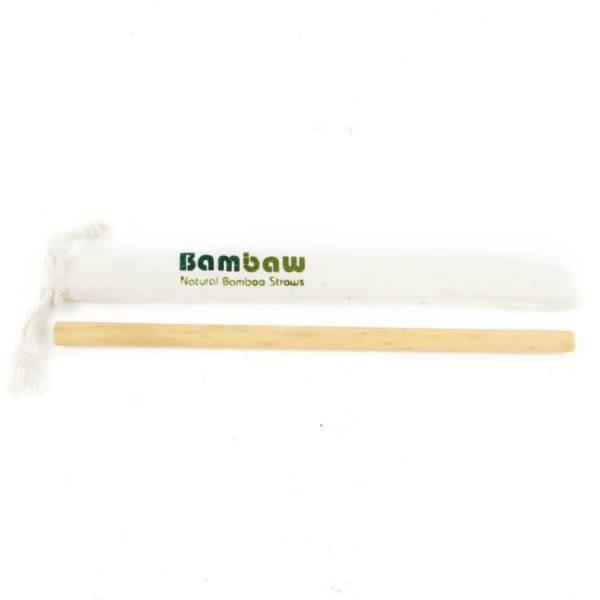 Herbruikbaar Bamboe rietje BamBaw