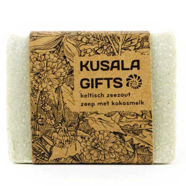 Kusala bio zeep keltisch zeezout kokosmelk