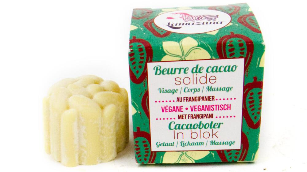 Natuurlijke bodylotion Lamazuna Cacaoboter