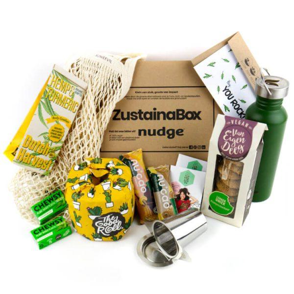 thuisblijfbox nudge eco producten